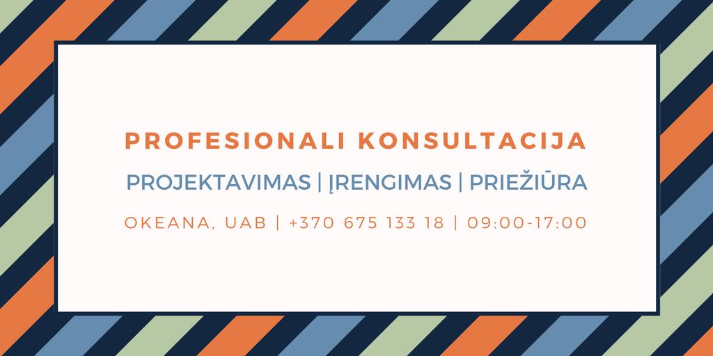 Profesionali konsultacija, pirties projektavimas ir įrengimas